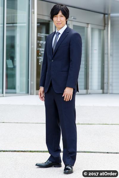 亀崎光博 選手のスナップ2